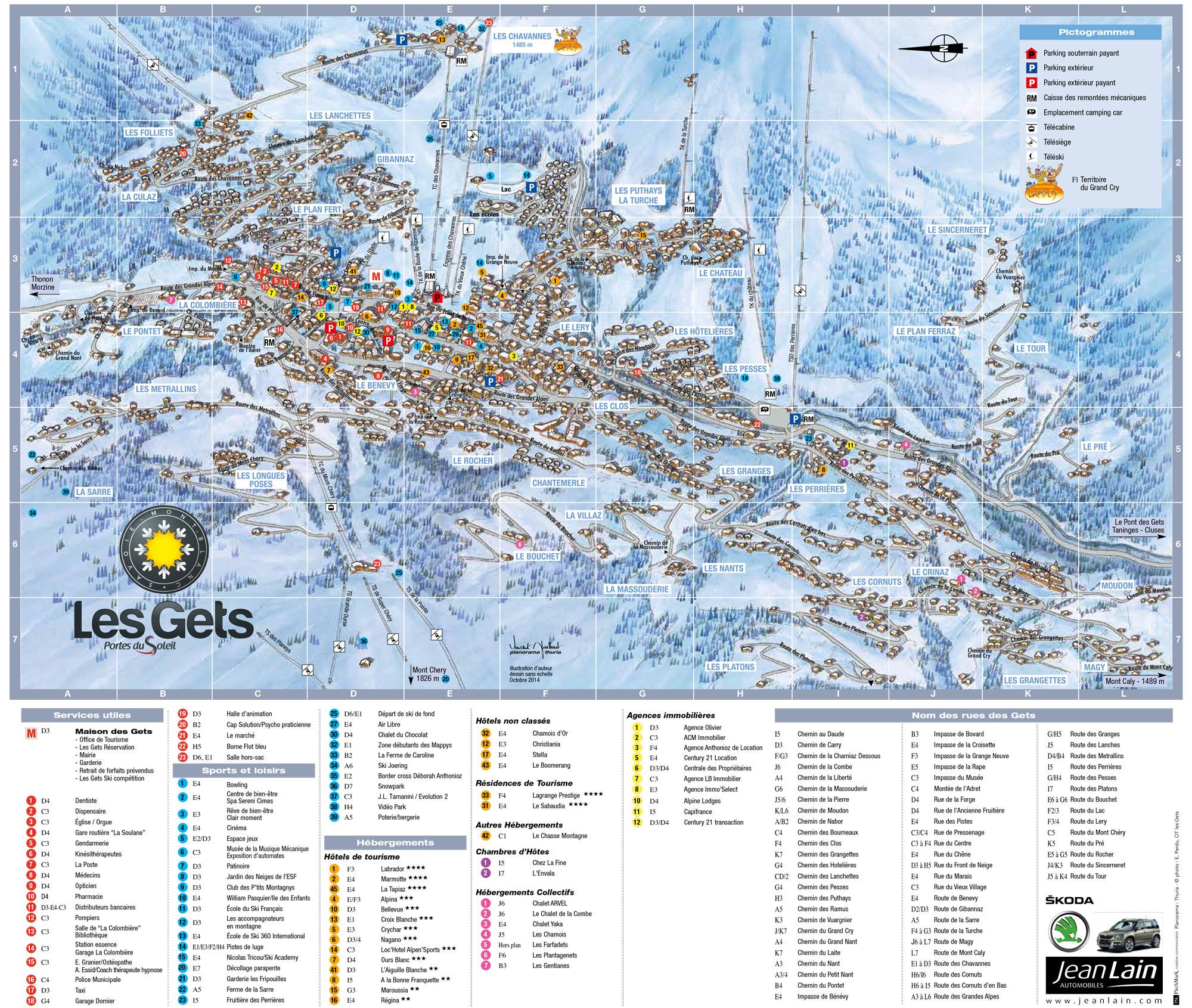 Station de ski les gets tetras sports les gets - Office tourisme villedieu les poeles ...