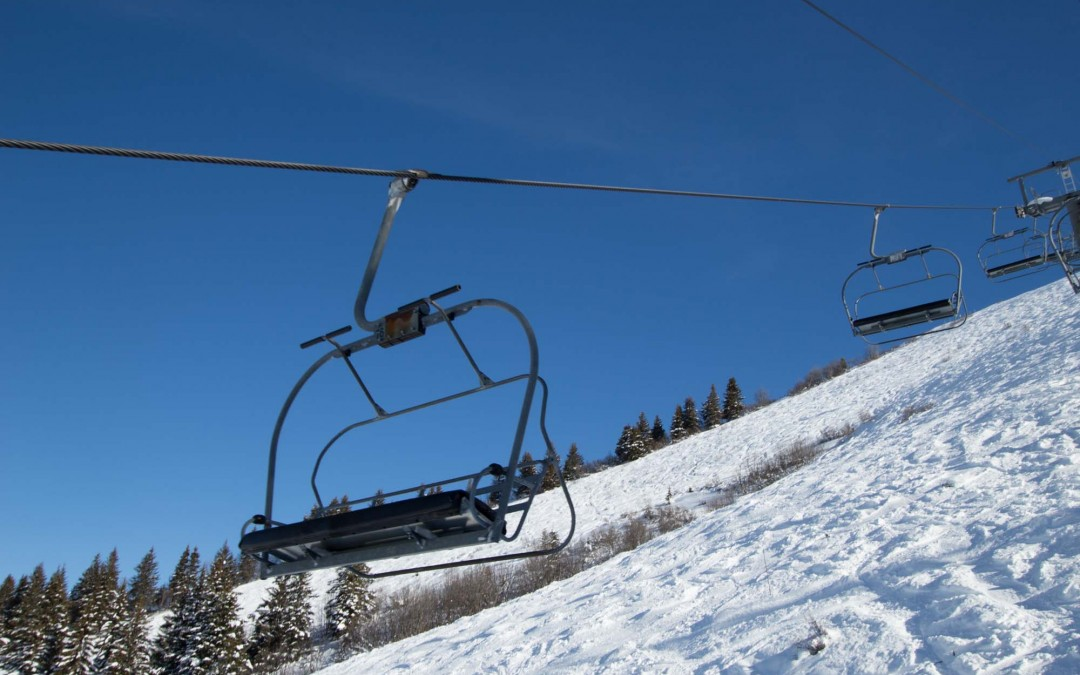 Opening of Les Gets ski area for Christmas 2015